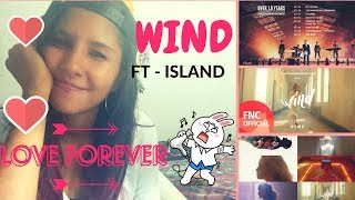 FT - ISLAND MV WIND REACTION / i LOVE YOU / OMG
