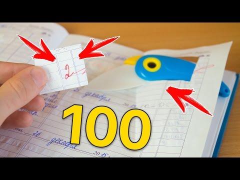 100 ЛАЙФХАКОВ ДЛЯ ШКОЛЫ + КОНКУРС