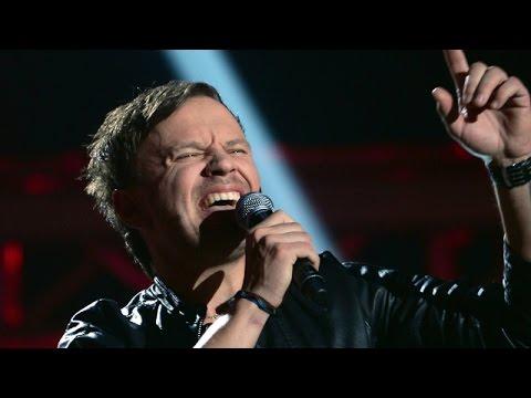 """The Voice Of Poland V - Dominik Dudzik – """"Wonderwall"""" - Przesłuchania W Ciemno"""