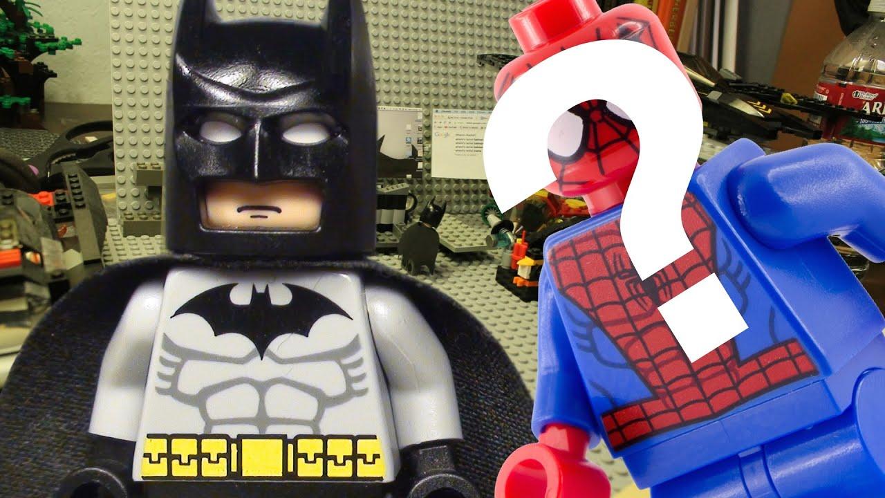 Lego batman and spiderman team up youtube - Spiderman batman lego ...