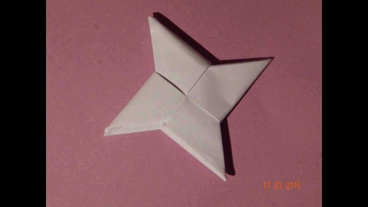 Как сделать сюрикен из бумаги: видео и фото-инструкция 64