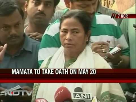 Mamata to take oath on May 20