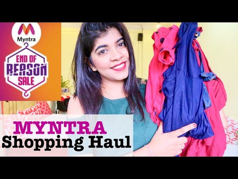 Myntra Try on and Shopping Haul | Affordable Collection | Ruchistylehaul