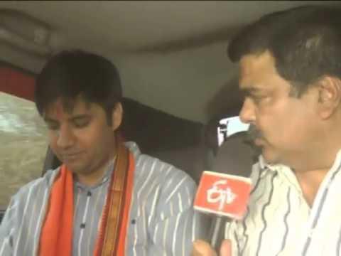 Raman Singh's son Abhishek Singh campaigns in Rajnandgaon