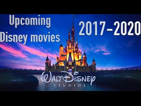 NEW Upcoming Disney movies in 2018 - 2020!!!