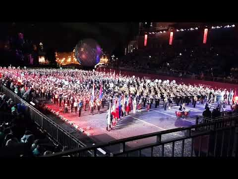 Spasskaya Tower Tattoo 2017 - Final