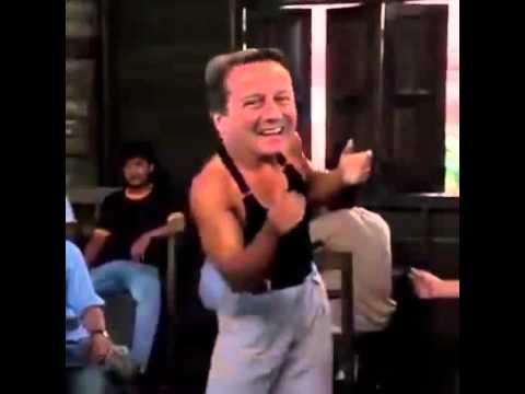 David Cameron celebrates 2015 Uk Election win