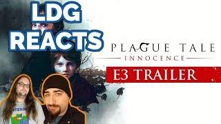 A Plague Tale: Innocence E3 2018 Trailer | Reaction