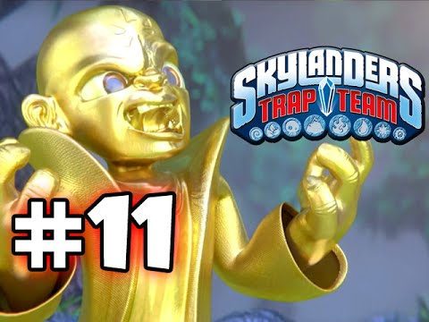 SKYLANDERS TRAP TEAM GAMEPLAY WALKTHROUGH - PART 11 -  GOLD KAOS!