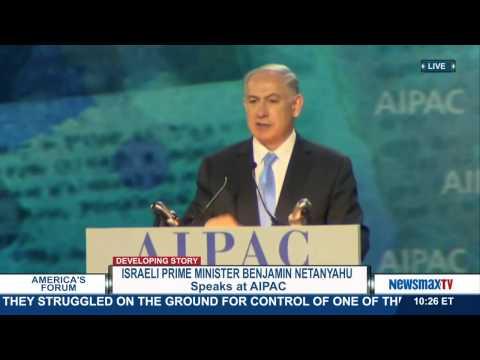 America's Forum | Israeli Prime Minister Benjamin Netanyahu speaks at AIPAC