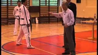General Choi Hong Hi teach how right stand in Guburio Sogi