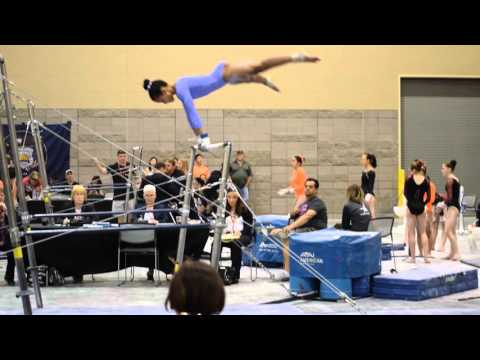 SARA EAST Gymnastics Bar Routine