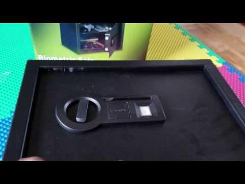 STACK-ON Biometric safe - add / unlock with new fingerprint