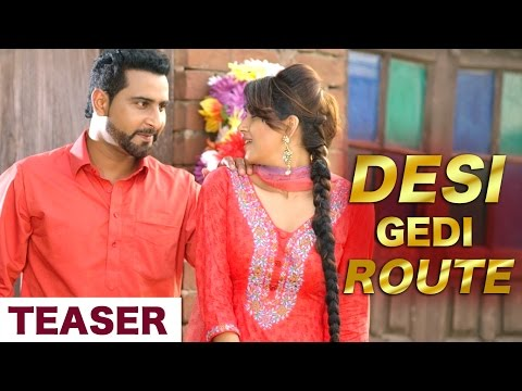 Teaser | Desi Gedi Route | Geeta Zaildar | Releasing 20 Decemeber | Latest Punja