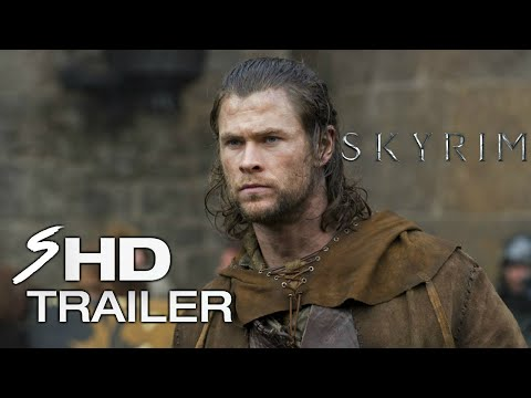 Skyrim (2018) - Movie Trailer #1 Chris Hemsworth, Sam Worthington (Fan Made)