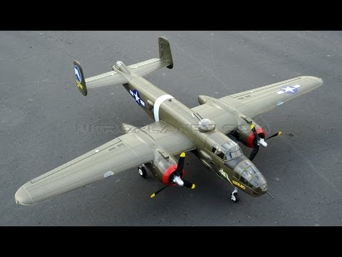 Airfield B-25 Bomber w/ Retracts Flight Review