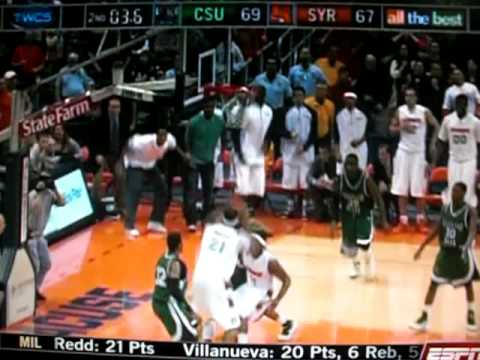 Cleveland St. Buzzer Beater v. Syracuse Video