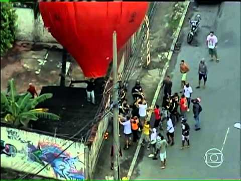 Bom dia Brasil balões - Perseguição da Rede Globo contra os baloeiros