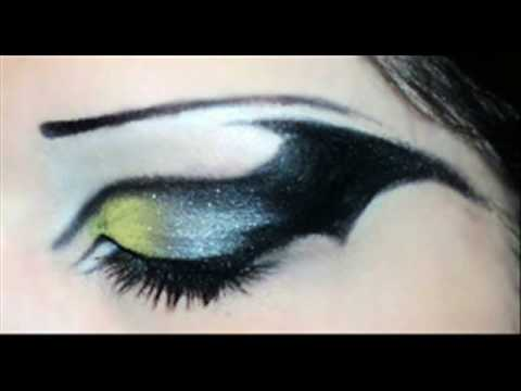 Wearable Wednesday: Taylor Swift · Batman Inspired makeup.