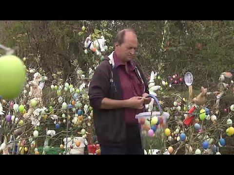 20.000 Ostereier im Garten: Lübecker hat erstmals Probleme mit Vandalismus