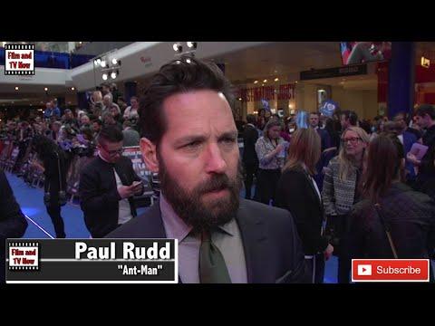 Paul Rudd Captain America: Civil War European Premiere Interview