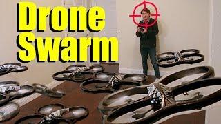 Head Hunting Drone Swarm