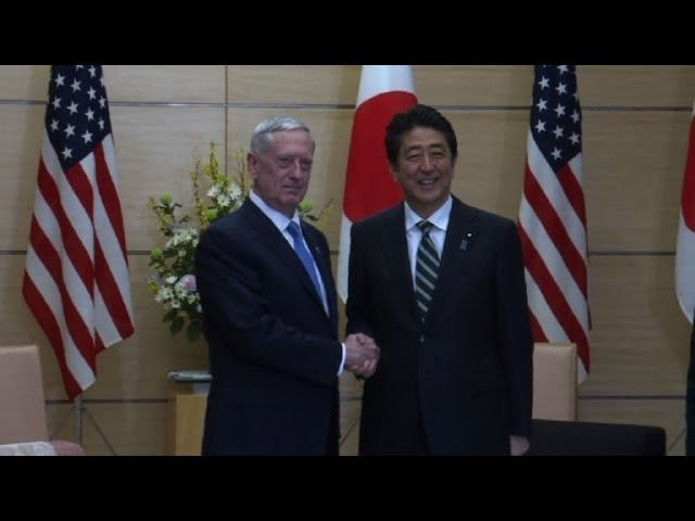 US Defense Secretary Mattis meets Japanese PM in Tokyo
