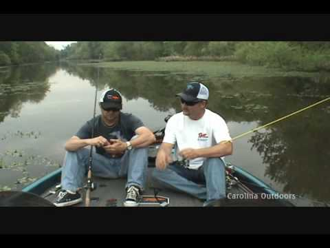 Carolina Outdoors - Bass fishing on the Cape Fear River part two