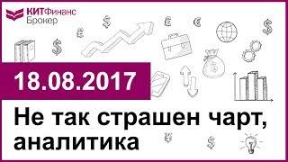 Не так страшен чарт, аналитика - 18.08.2017; 16:00 (мск)