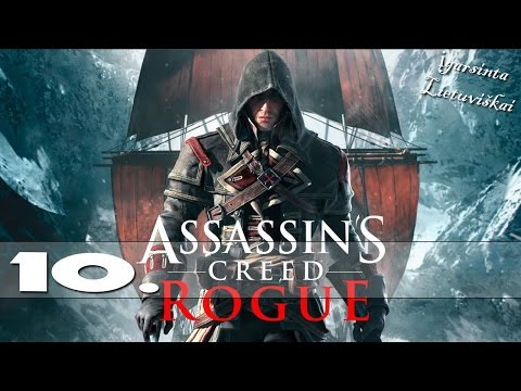 Assassin's Creed Rogue - Lietuviškai |Ep.10| +Facecam (HD)