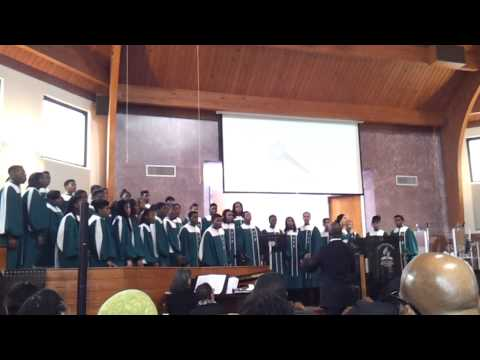 Pine Forge Academy Choir-We Shall Behold Him - 07/10/2014