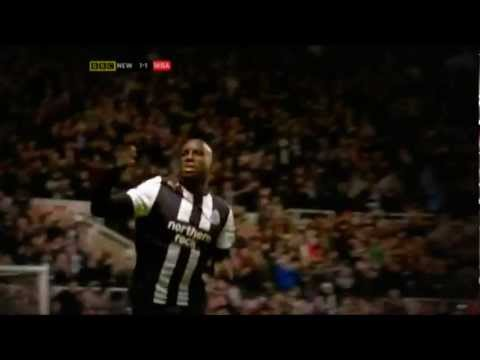 Demba Ba's 14 Goals Mid Season - Part 1