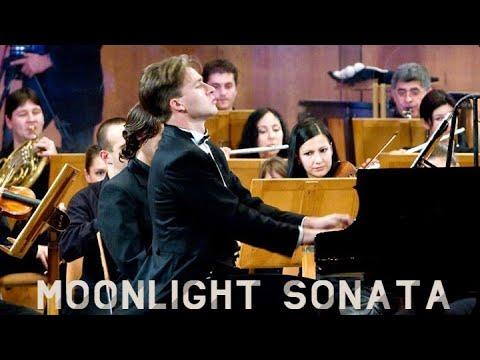 Beethoven - Moonlight Sonata   Piano & Orchestra