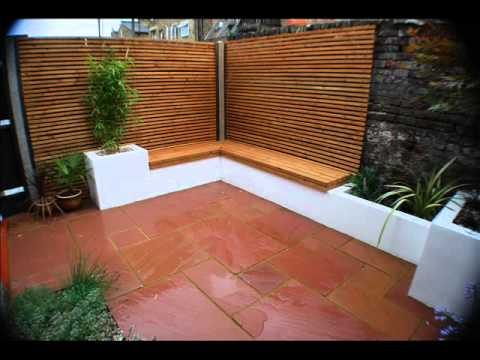 Modern garden ideas for small city garden kensington west for Contemporary garden design ideas for small gardens