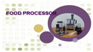 Vienta Food Processor Fungsi Thick Shreding