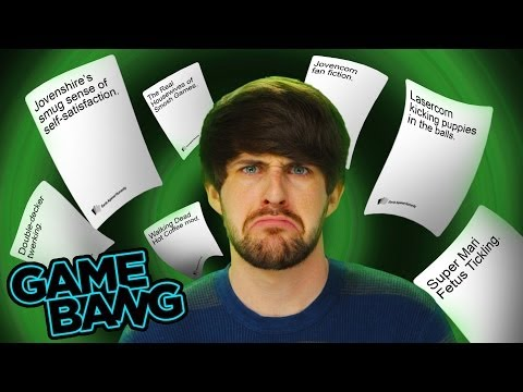 CARDS AGAINST HUMANITY MAKES US FEEL DIRTY! (Game Bang)