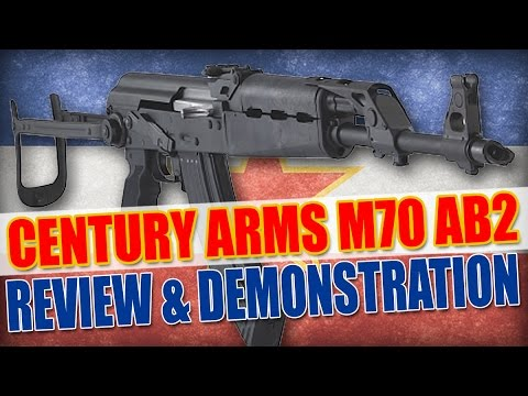 Gun Review: Century Arms M70 AB2 AK-47 Underfolder Review and Demonstration