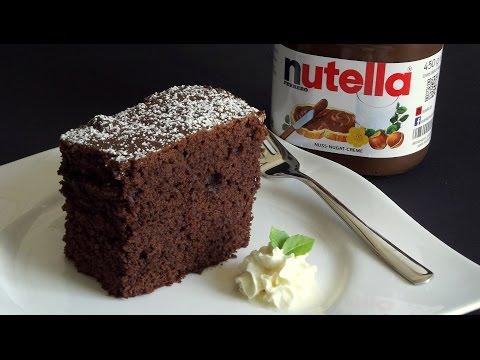 Nutella Kuchen Leicht