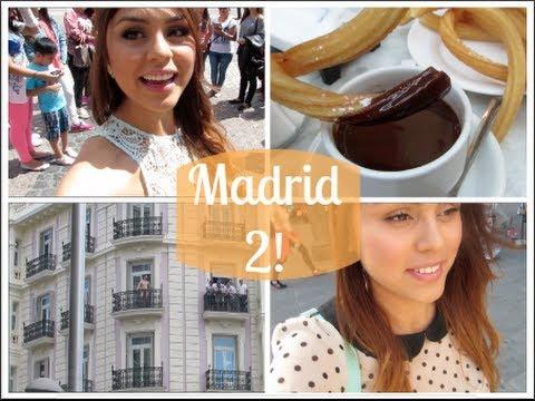 Vlog MADRID 2! (Hombre desnudo, Encuentro y churros!)