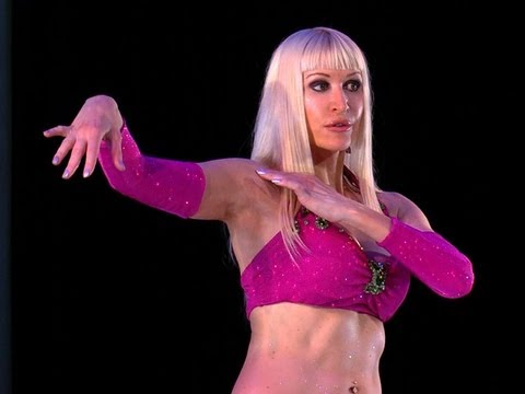 Belly Dance How to: Snake Arms / Arm Wave Move - Belly Dancing - with ...