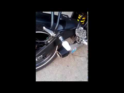 Custom Akrapovic Exhaust Down Yamaha YZF R15 Made In IMS Chuenk