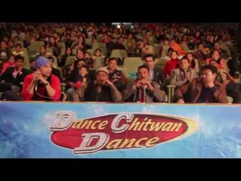 Bibhuti Dhakal Performance in Dance Chitwan Dance.