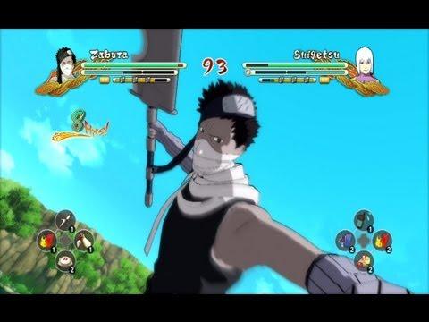 (XBOX 360) Zabuza vs Suigetsu Naruto Ultimate Ninja Storm 3