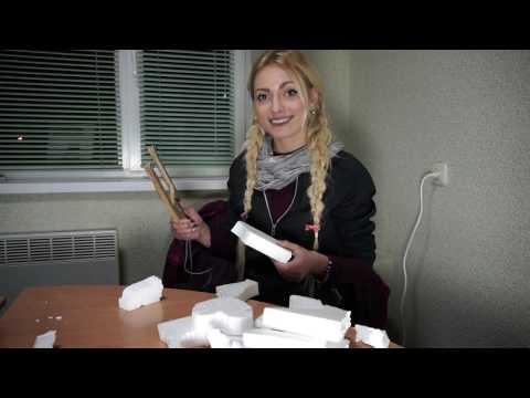 Резак для  пенопласта своими руками / How to make a plastic foam cutter