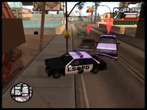 Vídeo do mod cleo policial para GTA SA