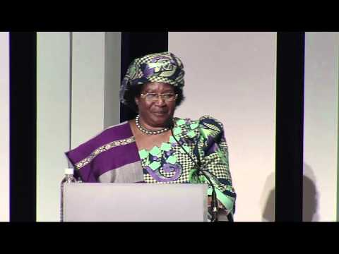 Keynote Address: Joyce Banda, President of Malawi