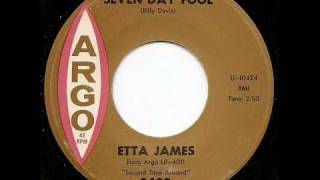 Watch Etta James Seven Day Fool video