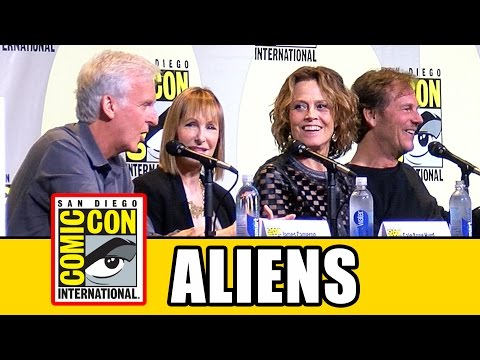 ALIENS 30th Anniversary Comic Con Panel Highlights (Pt1) - Sigourney Weaver, Bill Paxton