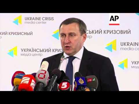 Protest against referendum, FM on Crimea observers, UN resolution