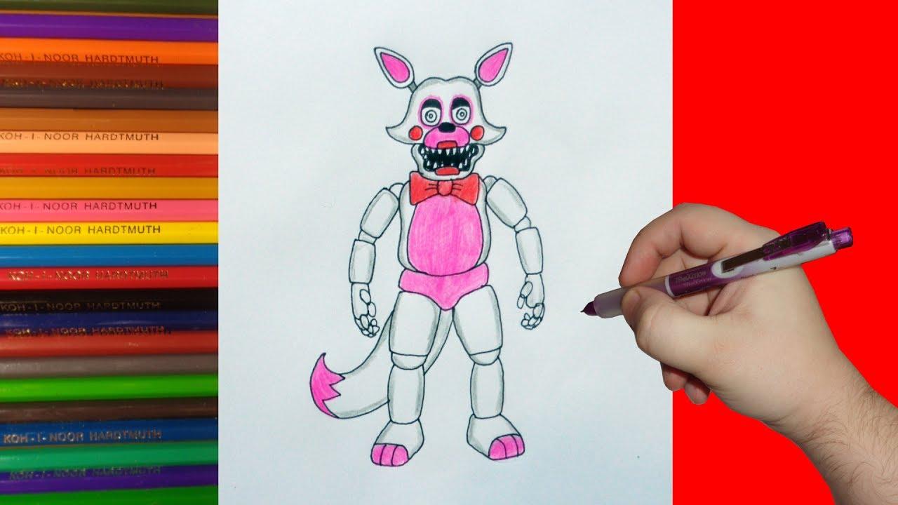 Видео как я рисую фнаф